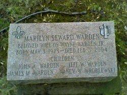 Marilyn <I>Seward</I> Warden