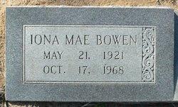Iona Mae Bowen