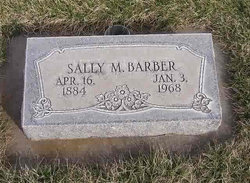 "Sarah Martha ""Sally"" <I>Ellis</I> Barber"