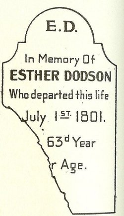 Esther <I>Hopkins</I> Dodson