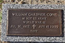 """William Gardner """"Tiny"""" Cone"""