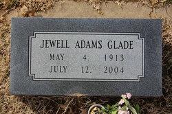 Jewell Anna <I>Adams</I> Glade