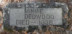 Minnie <I>Thomas</I> Dedwood