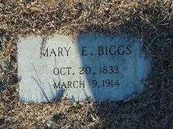 Mary E. <I>Hood</I> Biggs