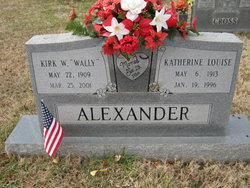"Kirk W ""Wally"" Alexander"
