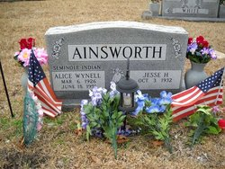 Alice Wynell Ainsworth