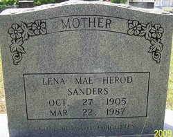 Lena Mae <I>Herod</I> Chandler