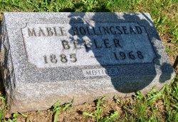 Mable Christina <I>Hollingsead</I> Beeler