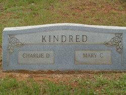 """Mary Catheren """"Sissy"""" <I>McNair</I> Kindred"""