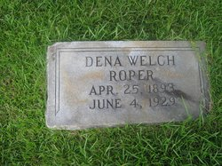 Mollie Dena <I>Welch</I> Roper