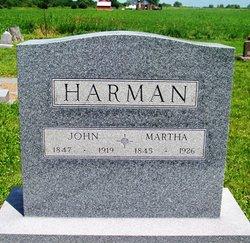 Martha Ann <I>Montgomery</I> Harman