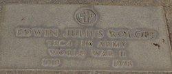 Edwin Julius Roloff