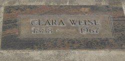Clara <I>Ewald</I> Weise