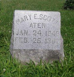 Mary E. <I>Scott</I> Aten
