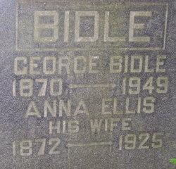 Anna Bell <I>Ellis</I> Bidle
