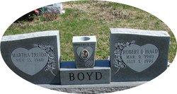 Martha Fredia <I>Combs</I> Boyd