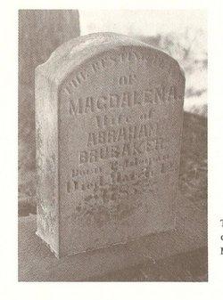 Magdalena <I>Eshleman</I> Brubacher