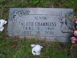 """Myrtie """"Auntie"""" Chambless"""