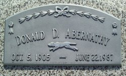 "Donald D ""Don"" Abernathy"