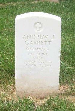 Andrew J Garrett