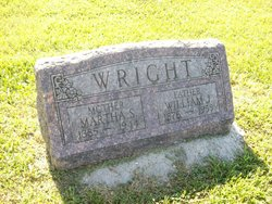 "Martha S. ""Mattie"" <I>Hankins</I> Wright"