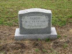 Tamsie <I>Key</I> Branson