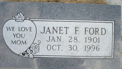 Janet F. <I>Johnston</I> Ford