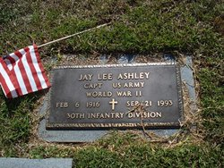 Capt Jay Lee Ashley
