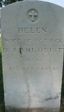 Helen Ahlquist