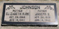 Elizabeth Hynd <I>Kirk</I> Johnson