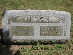 Alma D Brown