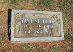 Pauline <I>Sparkman</I> Odom