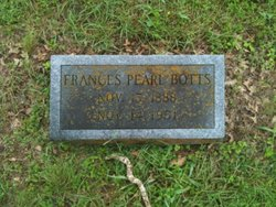 Francess Pearl Botts