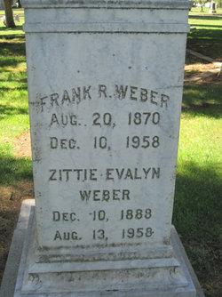 Mrs Zittie Evalyn <I>Little</I> Weber