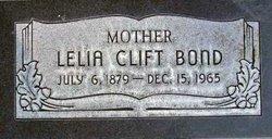 Lelia Luella <I>Clift</I> Bond