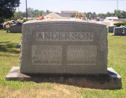 America Elizabeth <I>Young</I> Anderson