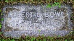 Elbert Daniel Bowe
