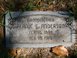 """Permelia E. """"Pernie"""" <I>Cline</I> Anderson"""
