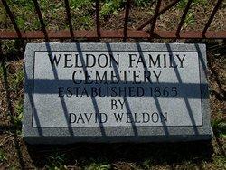Weldon Family Cemetery