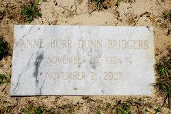 Anne Cumming <I>Burr</I> Bridgers