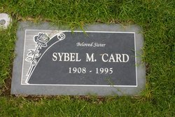 Sybel Elizabeth <I>Mieir</I> Card