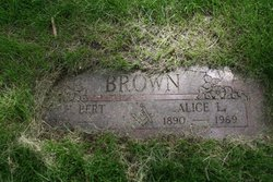 Alice L <I>Lloyd</I> Brown