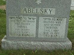 "Bertha ""Bunie"" <I>Gordon</I> Abelsky"