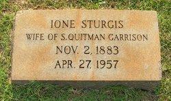 Ione <I>Sturgis</I> Garrison