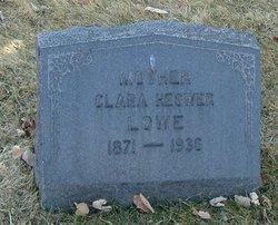 Clara <I>Hegwer</I> Lowe