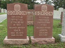 Ida (Chaie) <I>Gordon</I> Gordon