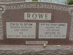 Bessie <I>Gordon</I> Rowe