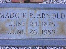 Madgie Lee <I>Roe</I> Arnold