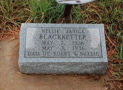 Nellie Janice Blackketter