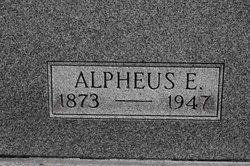 Alpheus E Barrick